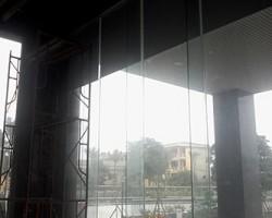 Làm rèm cuốn sảnh chính tại tòa nhà Mỹ Đình I, Quận Từ Liêm, Hà Nội