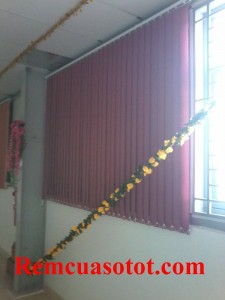 Làm rèm lá dọc chi nhà xưởng, nhà ăn KCN Võ Quế I, Bắc Ninh 4