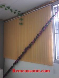 Làm rèm lá dọc chi nhà xưởng, nhà ăn KCN Võ Quế I, Bắc Ninh 5