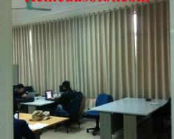 Làm rèm vải cản sáng cho khu thư viện ĐHBK, Hai Bà Trưng, Hà Nội