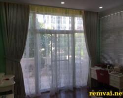Rèm cửa bằng vải giá rẻ đẹp mã RV 215