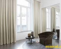 Rèm vải đẹp cho cửa sổ cản nắng 100% mã RV 217
