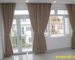 Rèm cửa vải giá rẻ ở Hà Nội mã RV 132