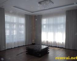 Rèm phòng phủ bằng vải voan giá rẻ ở Hà Nội mã RV 112