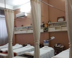 Làm rèm vải cho khu Spa ở Dương Quảng Hàm, Quận Cầu Giấy, Hà Nội