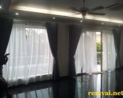 Rèm vải 2 lớp chống nắng giá tốt mã RV 103