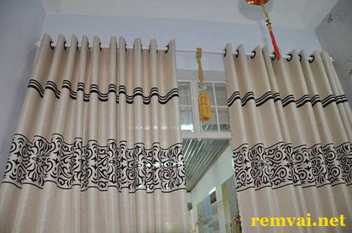 Rèm cửa vải đẹp giá rẻ ở Hà Nội mã RV 213