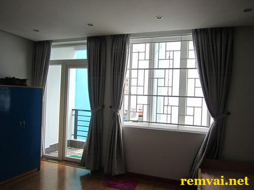 Rèm vải 2 lớp đẹp cho phòng ngủ mã RV 157
