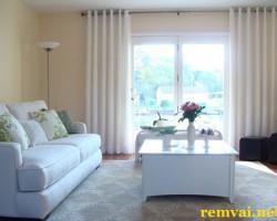 Rèm cửa vải cho cửa sổ ở Hà Nội mã RV 205