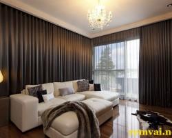 Rèm vải cửa sổ đẹp ở Hà Nội mã RV 156