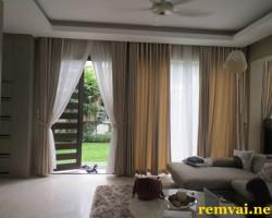 Rèm vải đẹp cho cửa sổ giá rẻ mã RV 153