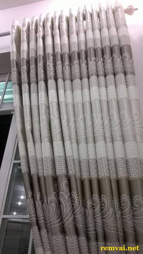 Rèm vải giá rẻ cho cửa sổ giá rẻ ở Hà Nội mã RV 124