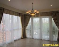 Rèm vải chống nắng cao cấp giá rẻ ở Hà Nội mã RV 116