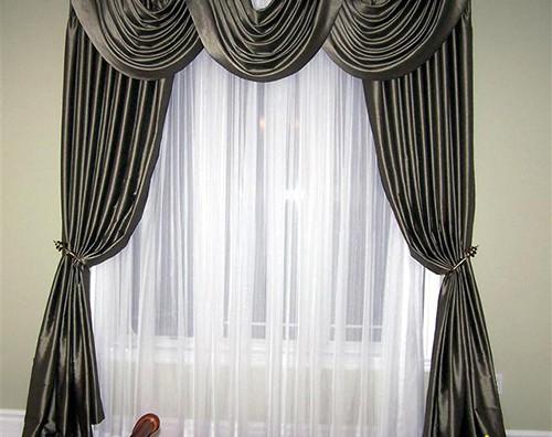Rèm vải nhung cao cấp cho cửa sổ mã RVN 111