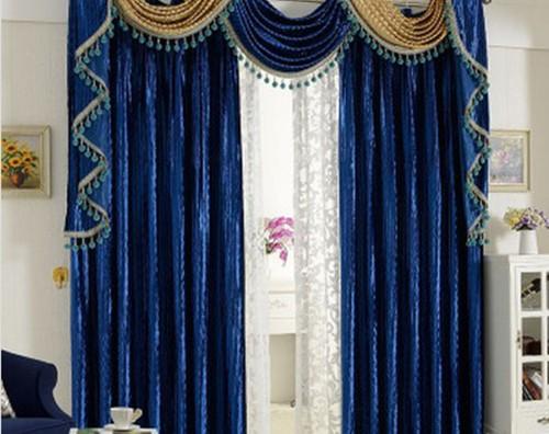 Rèm vải nhung cho cửa sổ đẹp mã RVN 108