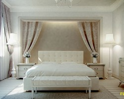 Rèm vải nhung cho phòng ngủ đẹp giá rẻ mã RVN 109