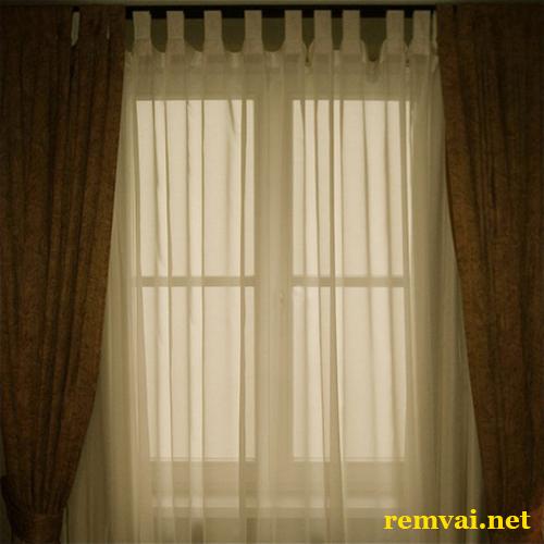 Rèm vải phòng ngủ cao cấp ở Hà Nội mã RV 129