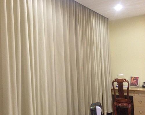 Rèm vải 2 lớp chống nắng giá rẻ ở Hà Nội mã RHL 101