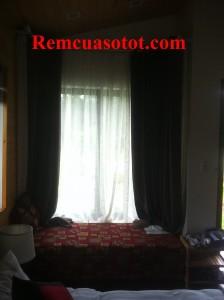 Thi công rèm vải cao cấp đẹp cho khu biệt thự nghỉ dưỡng Đại Lải Resort 1