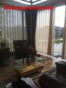Thi công rèm vải cao cấp đẹp cho khu biệt thự nghỉ dưỡng Đại Lải Resort 10