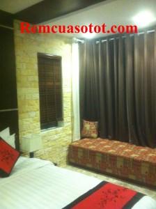 Thi công rèm vải cao cấp đẹp cho khu biệt thự nghỉ dưỡng Đại Lải Resort 2