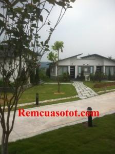 Thi công rèm vải cao cấp đẹp cho khu biệt thự nghỉ dưỡng Đại Lải Resort 3