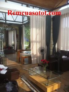 Thi công rèm vải cao cấp đẹp cho khu biệt thự nghỉ dưỡng Đại Lải Resort 4