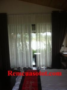 Thi công rèm vải cao cấp đẹp cho khu biệt thự nghỉ dưỡng Đại Lải Resort 6