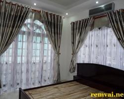 Rèm vải cho cửa sổ đẹp cho căn hộ, biệt thự mã RV 141