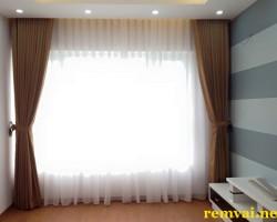 Rèm vải ore cho cửa sổ giá rẻ ở Hà Nội mã RV 145