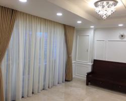 Rèm vải cho phòng khách đầy sang trọng mã RV 305