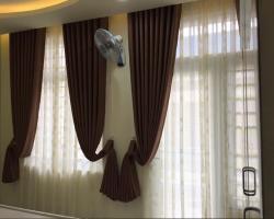 Rèm vải chống nắng cao cấp Mã RV 302