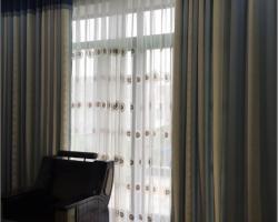 Rèm vải 2 lớp đẹp cho phòng khách mã RV 311